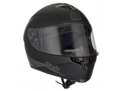 Helma SPEEDS RACE II UNI / černá matná
