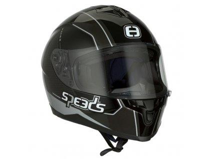 Helma SPEEDS RACE II Grafik / titanová-stříbrná