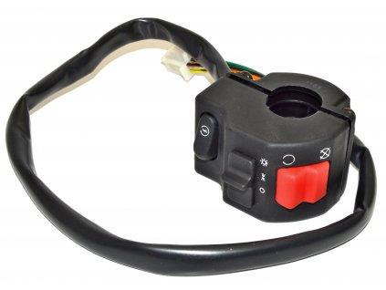 [1/a] Spínací ovládání pravé / průměr 25,4 mm (FIG40) - Hyosung GV 250
