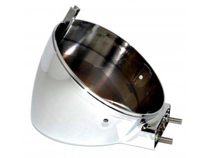 [9] Zadní kryt světlometu (blatník & držák světlometu) - Hyosung GV 650