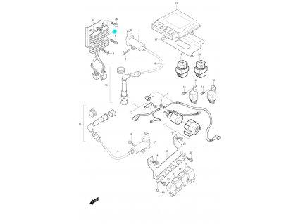 [5] Regulátor / nová verze (FIG24) - Hyosung GV 650i P