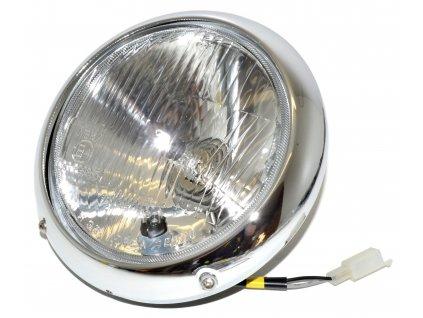 [1] Světlomet kompletní / průměr 160 mm (FIG22) - Hyosung GT 125 N