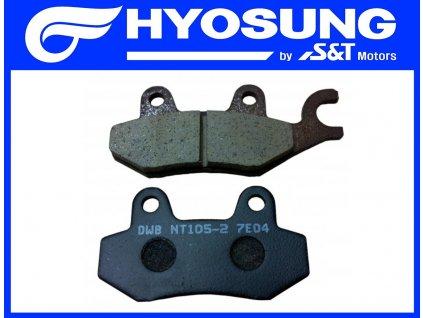 [1] Brzdové destičky / sada (FIG44) - Hyosung MS3 250i
