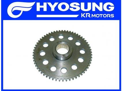 [5] Ozubené kolo pohonu (volnoběžka startéru) - Hyosung MS3 250i
