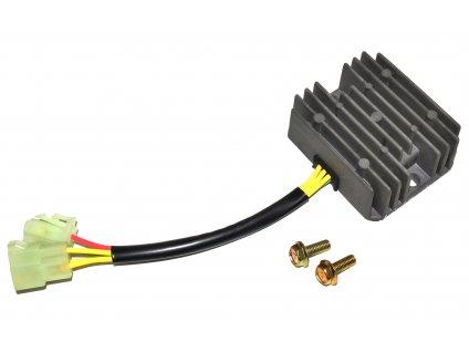 [5] Regulátor včetně upevňovacích šroubů (FIG24) - Hyosung GV 650