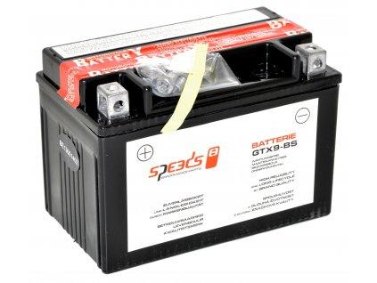 [1] Baterie SPEEDS GTX9-BS / 12V, 8Ah (FIG19) - Hyosung GV 250