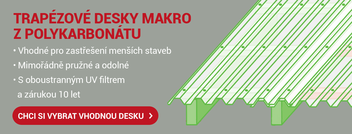 Trapézové desky Makro