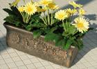 Květináče - imitace kameniny