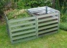 Kovové kompostéry