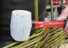 Paličky gumové a silonové