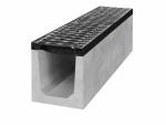 Betonový odvodňovací žlab pro zátěž D400