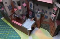 Papírový modelhradu Pernštejn