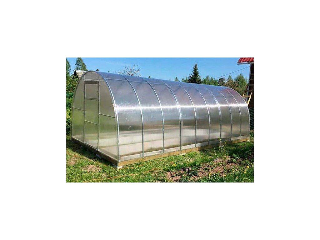 Zahradní skleník z polykarbonátu Gardentec Herbus 6 m