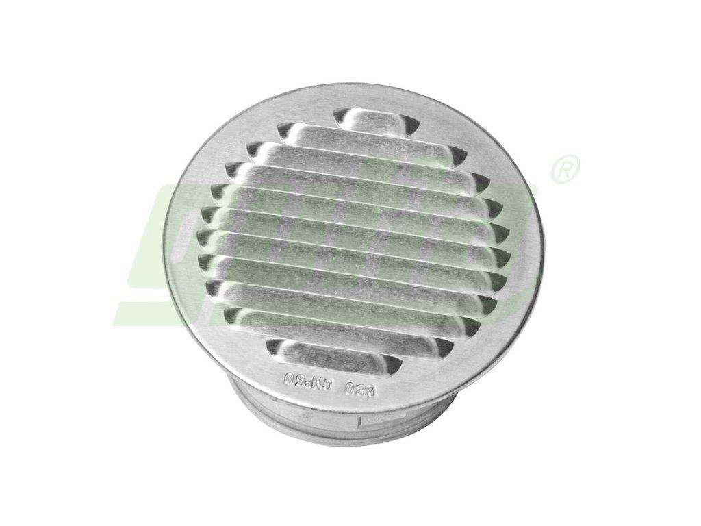 Ventilační mřížka kulatá hliníková