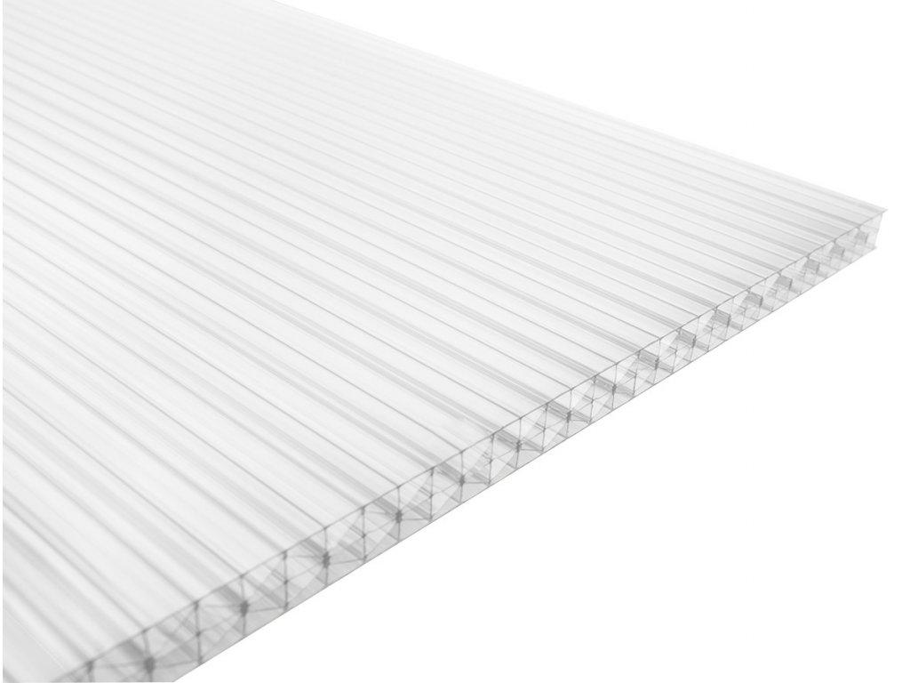 Polykarbonátová deska Guttagliss DUAL STRONG 16 mm - čirá