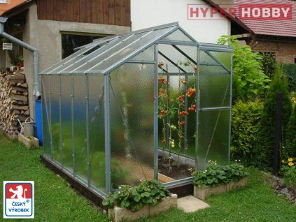 Zahradní skleník Limes Hobby H6  + automatický otvírač ke každému oknu