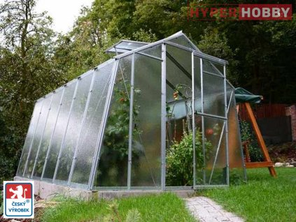 Zahradní skleník Limes Hobby H7  + automatický otvírač ke každému oknu