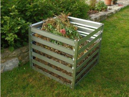 Plechový zahradní kompostér