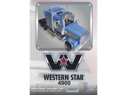Papírový model tahače Western Star 4900