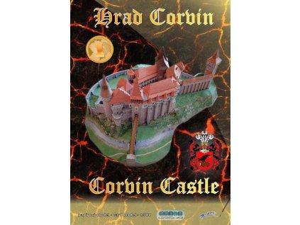 Papírový model hradu Corvin