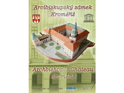 Papírový model arcibiskupského zámku Kroměříž