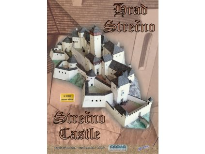 Papírový model hradu Strečno
