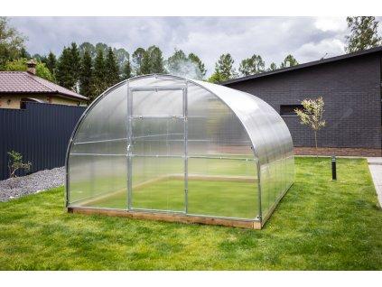 Zahradní skleník z polykarbonátu Gardentec Herbus 4 m
