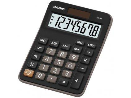 Kalkulačka Casio MX 8B BK černá obrázek 1