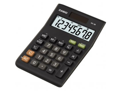 Kalkulačka Casio MS 8(B)S černá obrázek 1