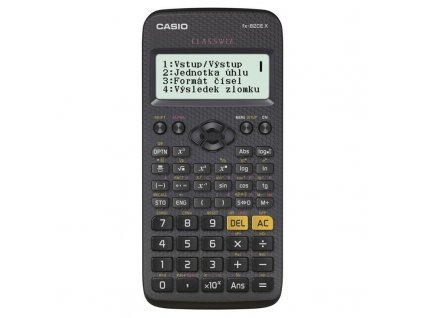 Kalkulačka Casio ClassWiz FX 82 CE X černá obrázek 1