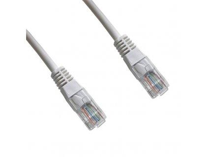 Kabel DATACOM síťový (RJ45), 1m bílý obrázek 1