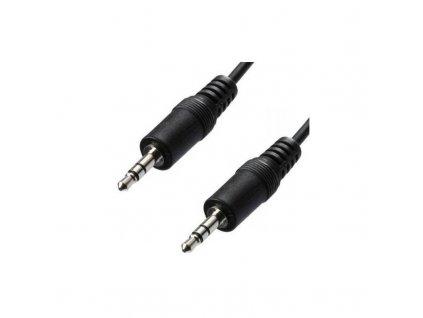 Kabel AQ audio 3,5 mm jack na 3,5 mm jack, 3 m černá barva obrázek 1