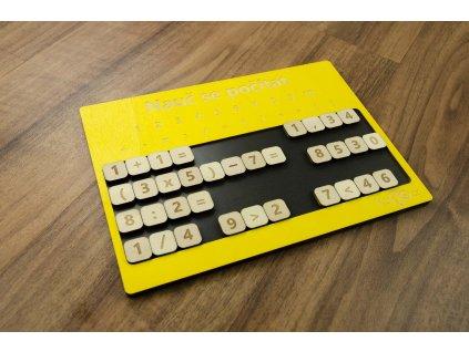 Žluté číslice5