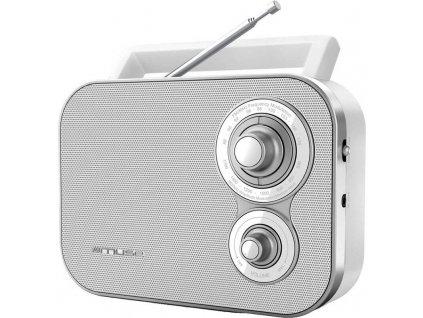 Radiopřijímač MUSE M 051 RW bílý obrázek 1