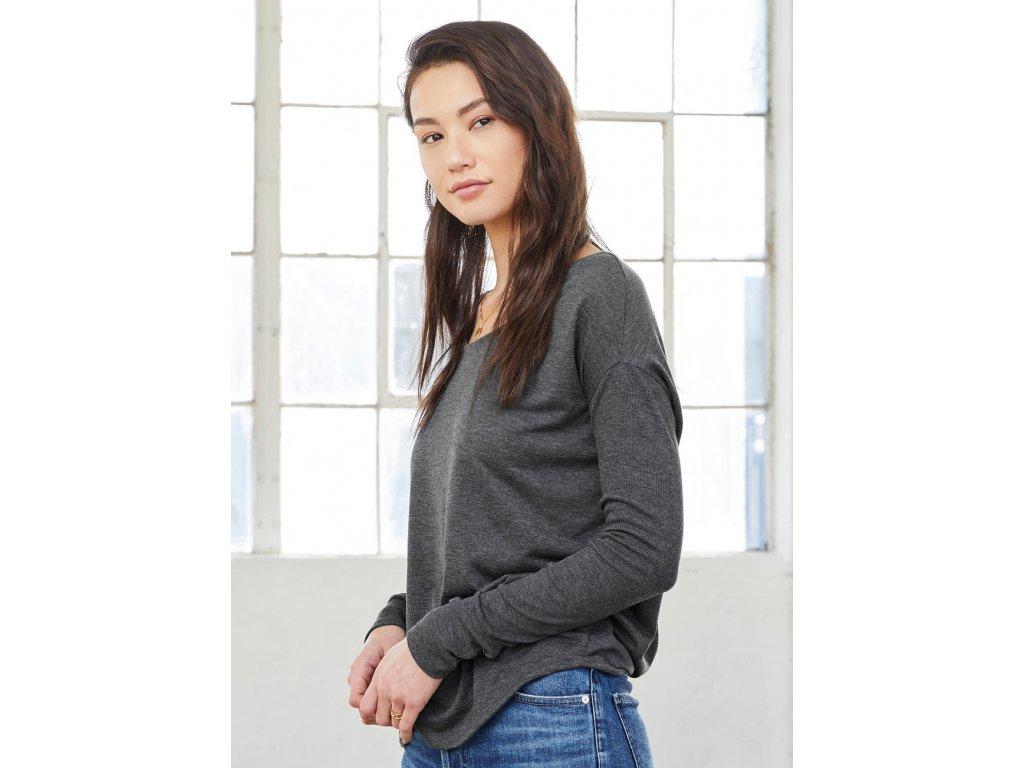 Tričko s dlhými rukávmi Flowy 2x1 Viscose