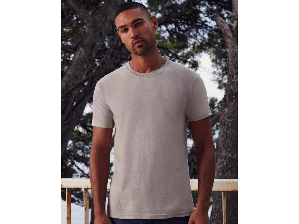 Tričko z prstencovej bavlny Premium