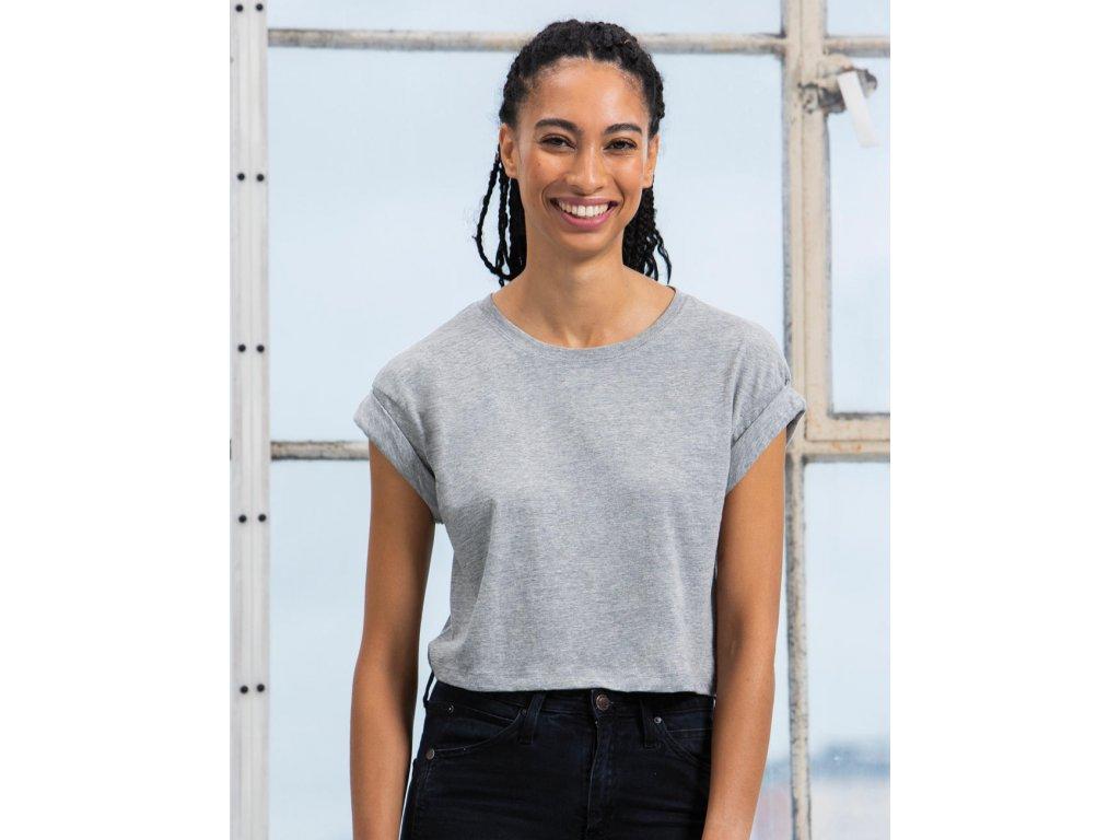 Dámske tričko Crop z organickej bavlny
