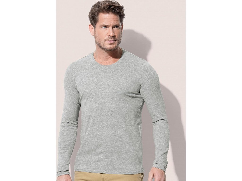 Tričko Clive s dlhými rukávmi