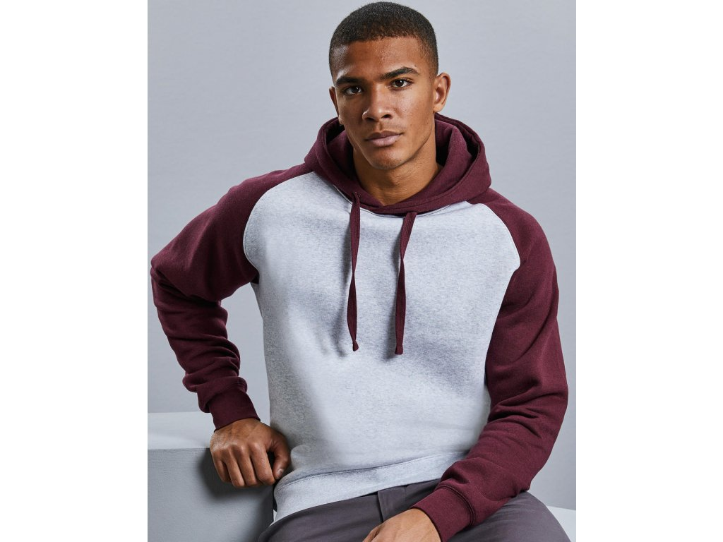 Mikina Authentic Hooded Baseball Sweat
