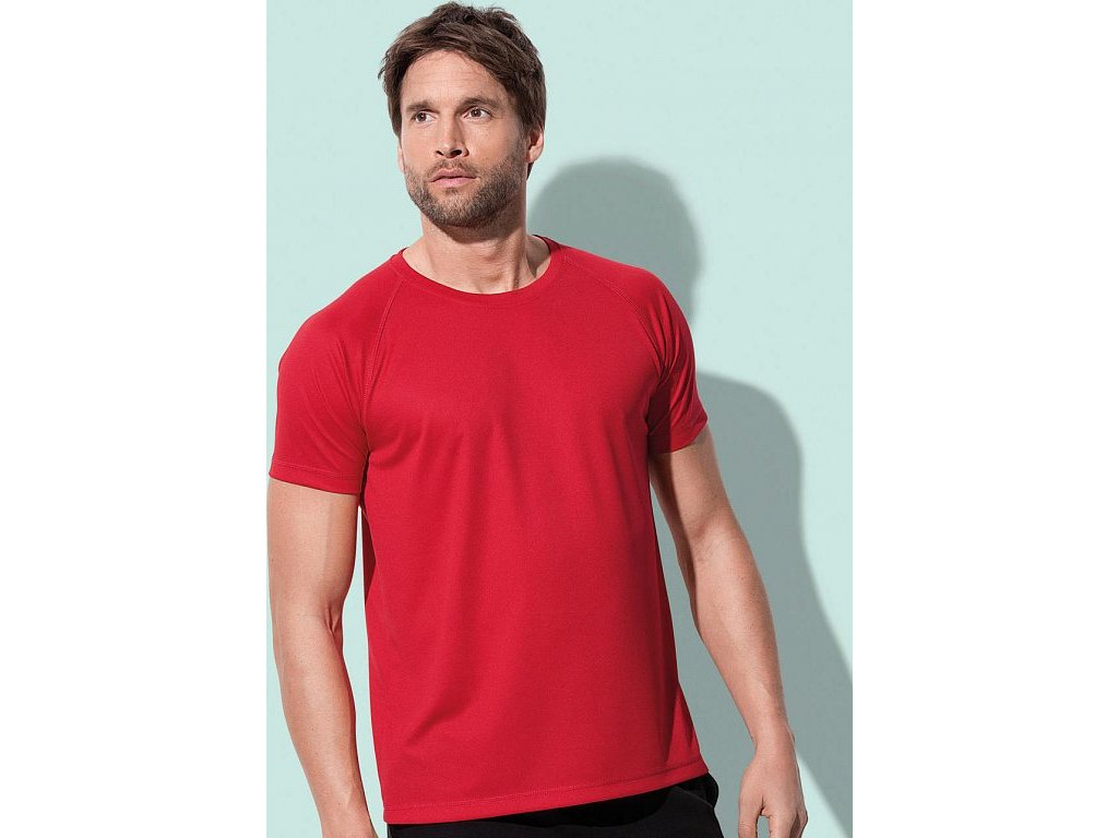 Pánske tričko Active 140 Raglan