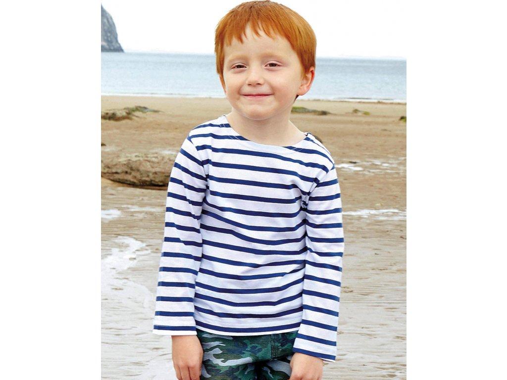 Detské tričko Breton
