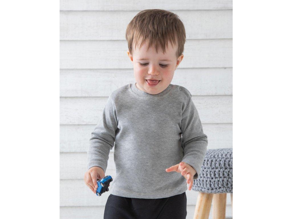 Tričko s dlhými rukávmi pre bábätká
