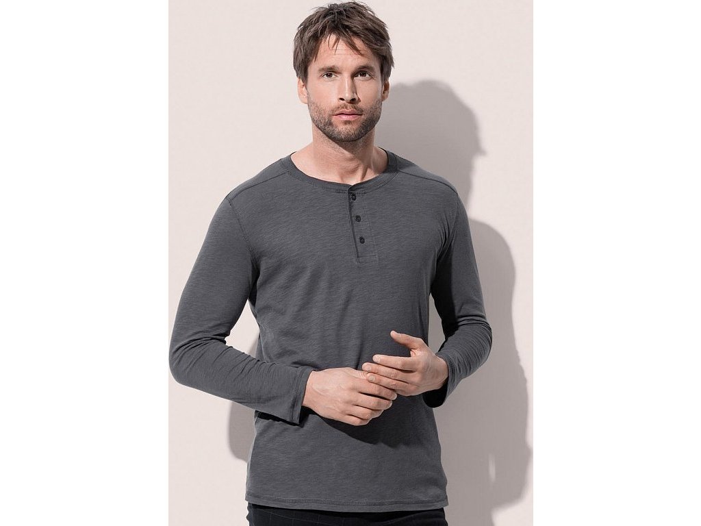 Pánske tričko Shawn s dlhými rukávmi