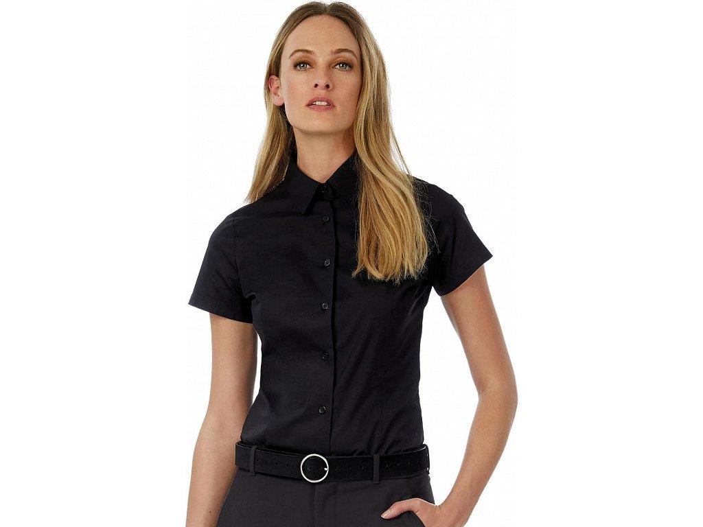 Dámska košeľa Black Tie SSL/women Poplin