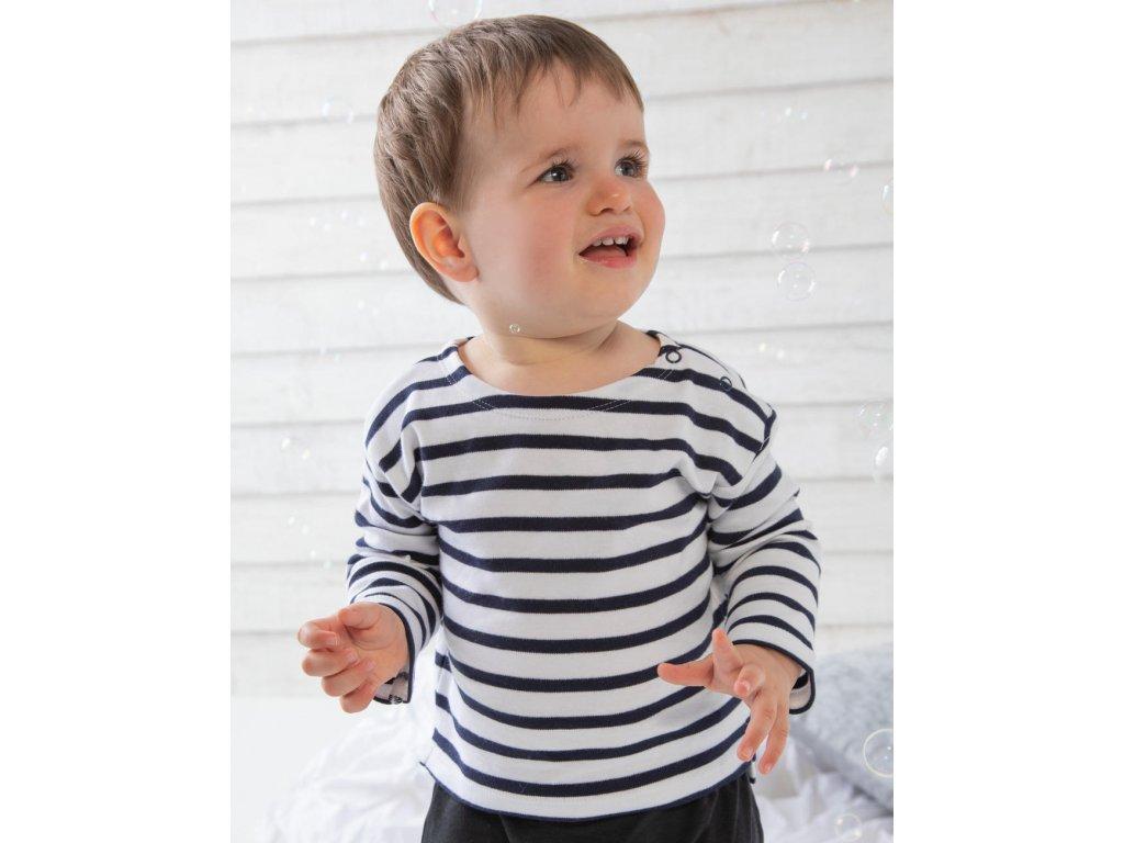 Detský top Breton