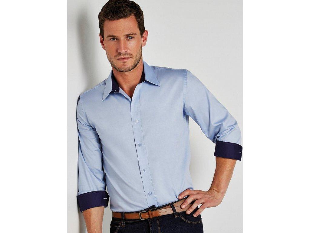 Košeľa Premium Oxford s dlhými rukávmi