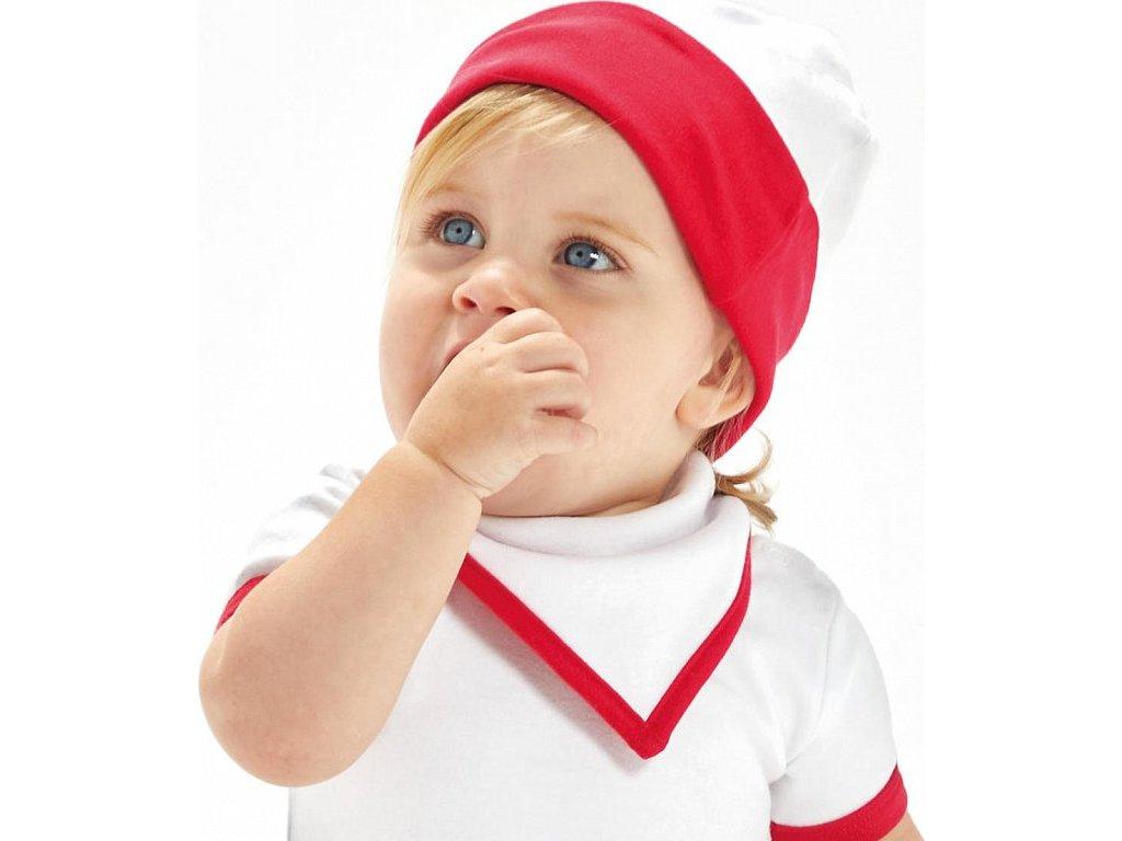 Obojstrasnná čiapka pre bábätká