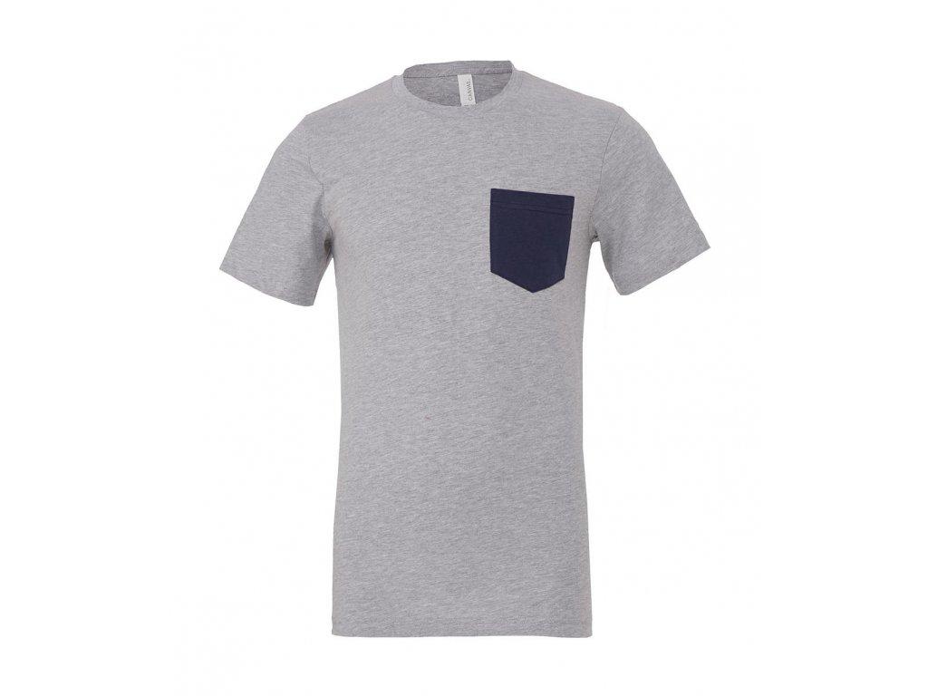 Pánske tričko Jersey s vreckom