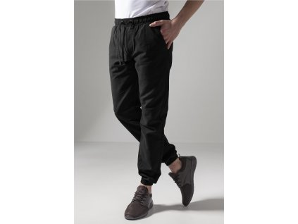 Washed Canvas Jogging Pants