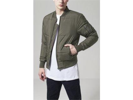 Bunda Basic Quilt Bomber Jacket